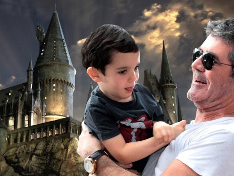 Simon Cowell's son Eric has a Harry Potter den in his house and we're not jealous at all about that