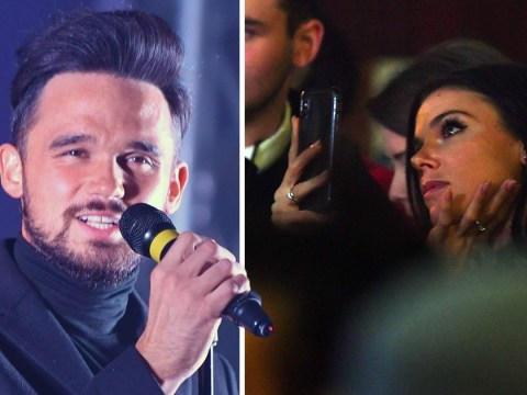 Gareth Gates leaves girlfriend Faye Brookes in tears after serenade at Christmas lights switch on
