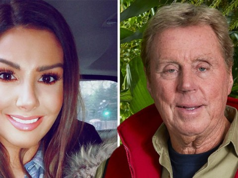 Rebekah Vardy puts her money on Harry Redknapp to win I'm A Celebrity