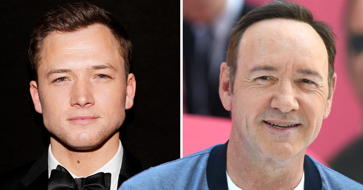 Taron Egerton claims Kevin Spacey was an 'audacious flirt' – but says he was never inappropriate towards him