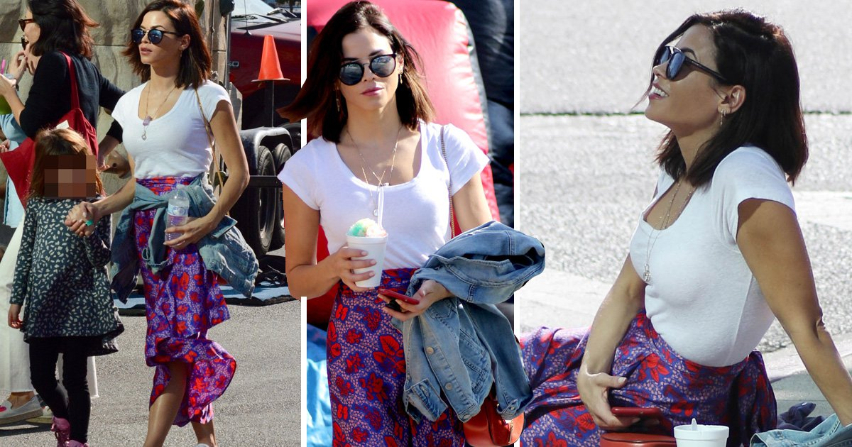 Jenna Dewan puts relationship drama behind her as she enjoys mother-daughter day with Everly, 5