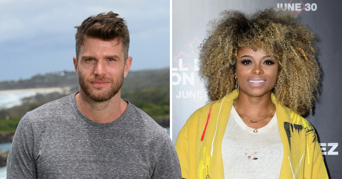 I'm A Celeb's Joel Dommett mocks Fleur East's boiler suit as he asks: 'Who wore it better?'