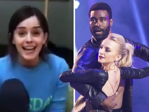 Emma Watson leaves a message of support for Harry Potter co-star Evanna Lynch as she takes part in Dancing With The Stars