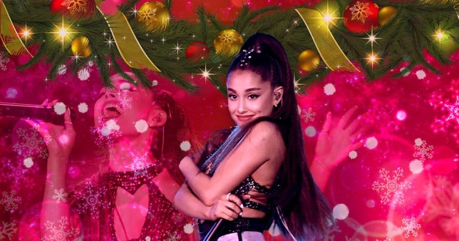 Ariana Grande Christmas.Christmas Number One Odds Put Ariana Grande On Top With
