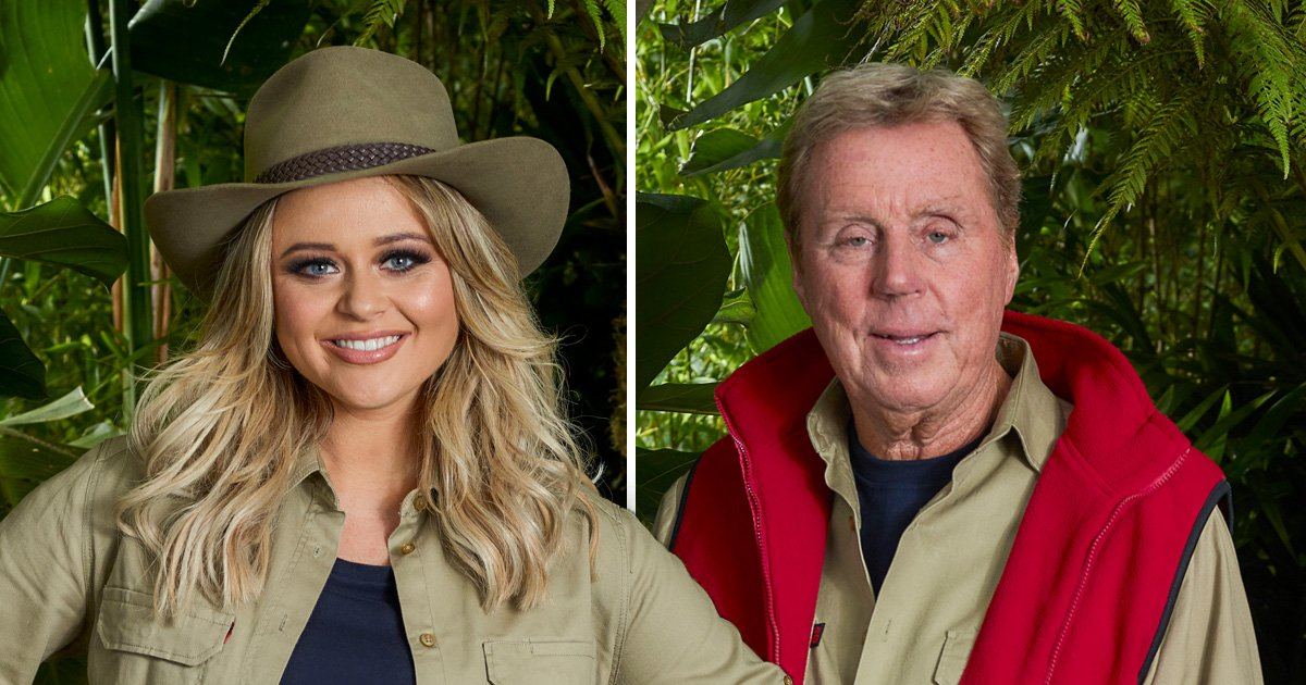 I'm A Celebrity odds make Emily Atack and Harry Redknapp joint favourites to win