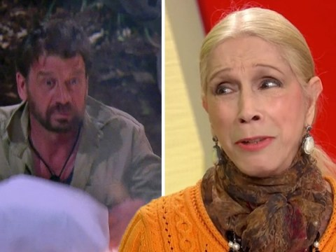 Lady C believes Nick Knowles is playing a game on I'm A Celebrity by giving away his pillow