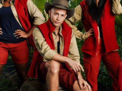 James McVey trolled us all in I'm A Celebrity press shot with the Circle Game and honestly, we're impressed