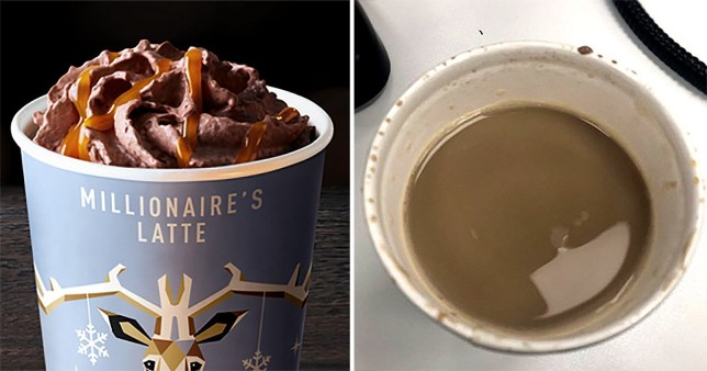 People Are Calling Out Mcdonalds Millionaires Latte For