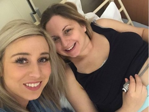Giving birth to another child could have left her in a wheelchair – so woman's friend had her baby