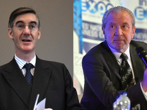 Alan Sugar calls Jacob Rees-Mogg 't**t in a pinstripe suit' in Brexit rant