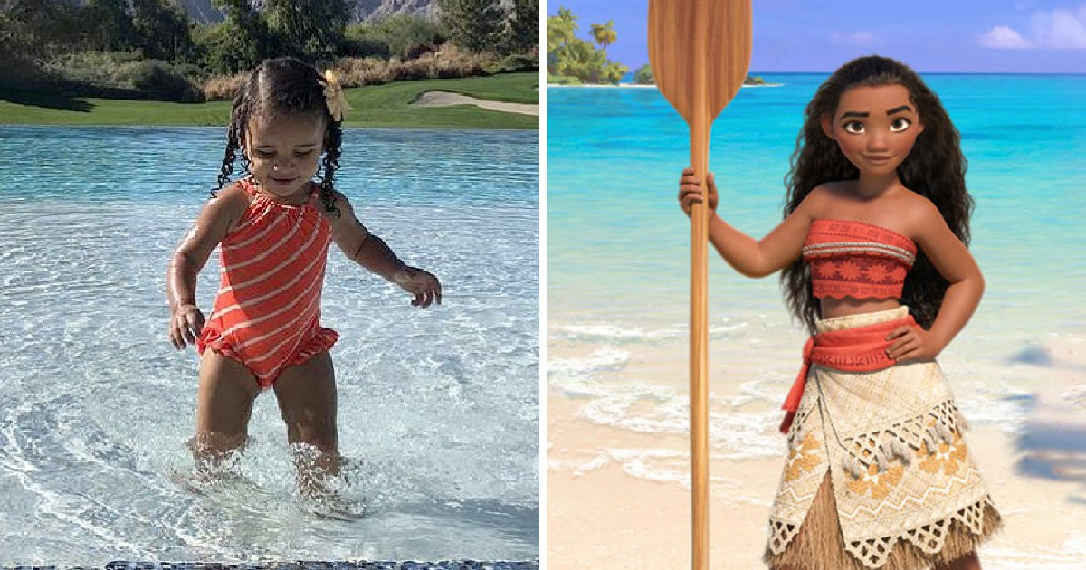 Rob Kardashian shows off Dream channeling Disney's Moana and it's adorable AF