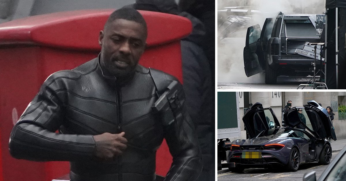 Idris Elba joins The Rock and Jason Statham filming for Fast And Furious spin-off