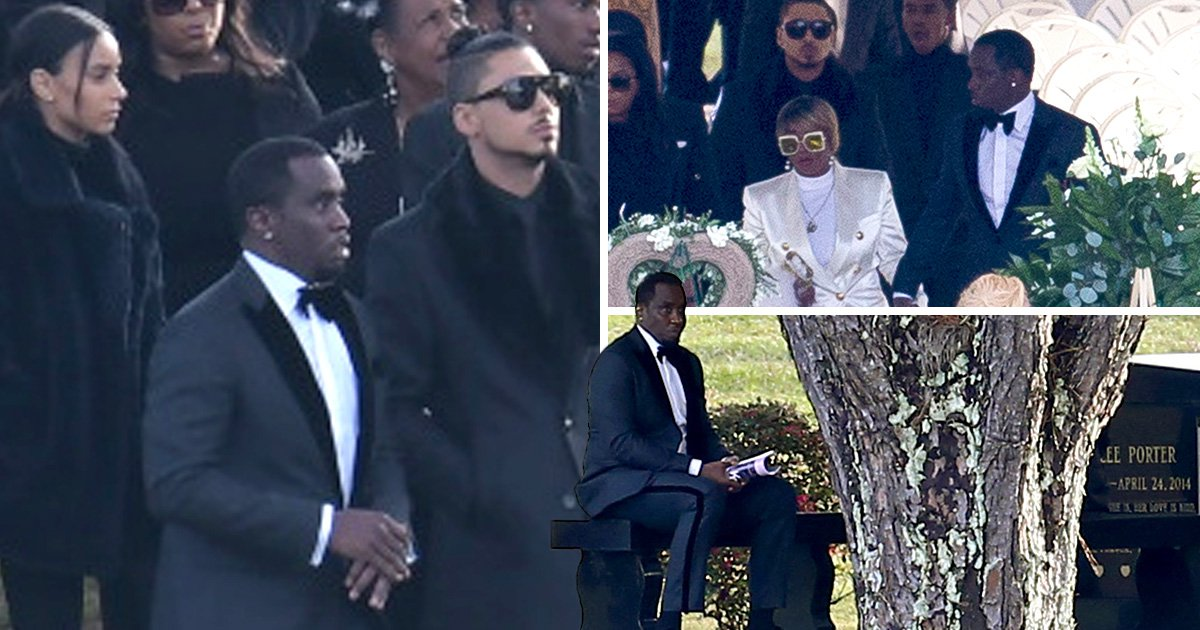 p diddy wife funeral