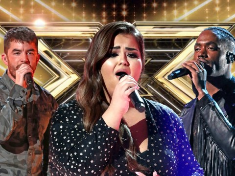 What time is X Factor tonight and what are the songs and duets for the final?