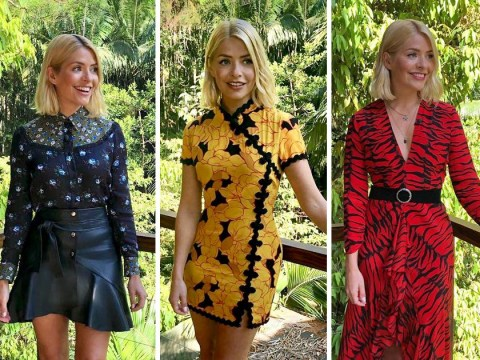 Holly Willoughby's stylist has prepped 40 glam outfits for I'm a Celeb