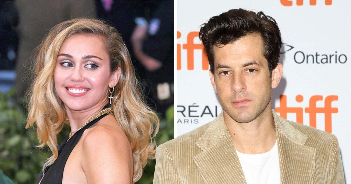 Fans go wild as Miley Cyrus teases Mark Ronson collaboration