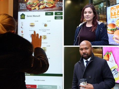 McDonald's customers not put off by poo on the touchscreens