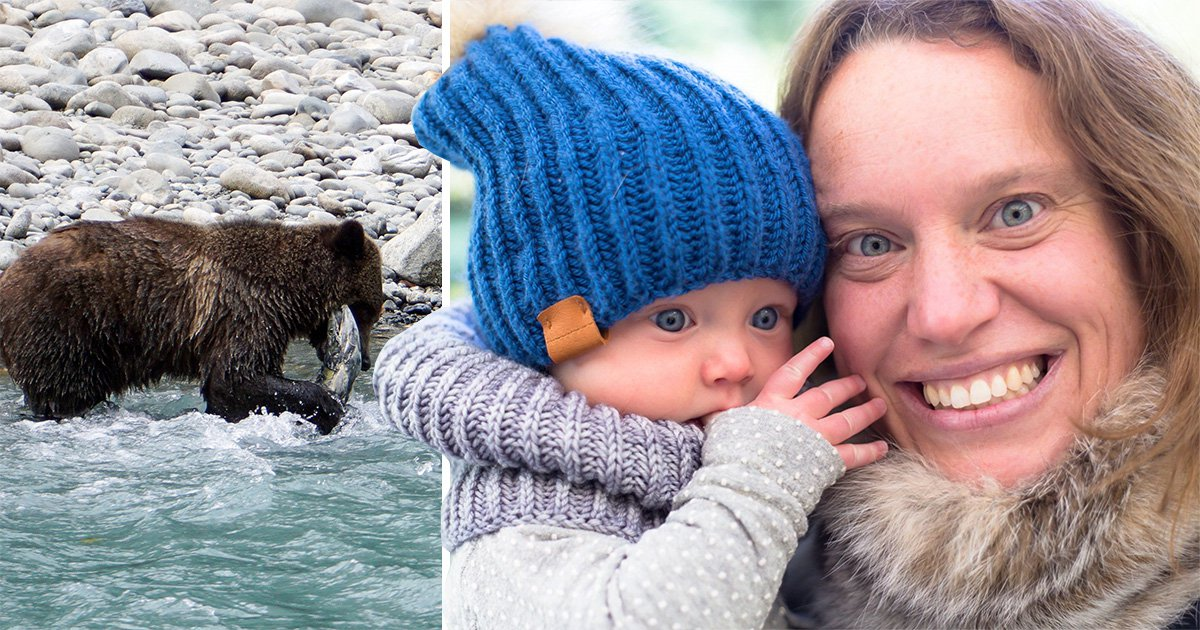 Mum and baby killed by bear at cabin they were staying at for maternity leave