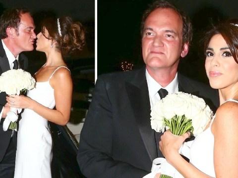 Inside Quentin Tarantino's star-studded wedding reception to Isreali model Daniella Pick