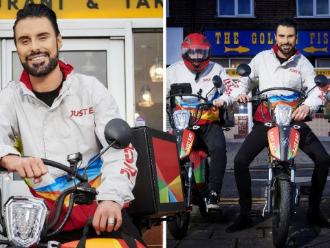 'I hope I don't scare people!': Rylan Clark-Neal gets job delivering takeaway for X Factor final