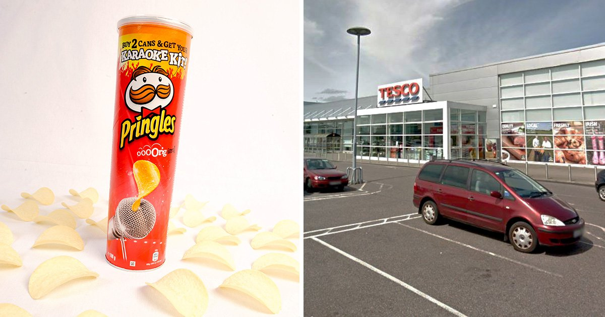 Pregnant woman jailed for opening Pringles at Tesco before paying