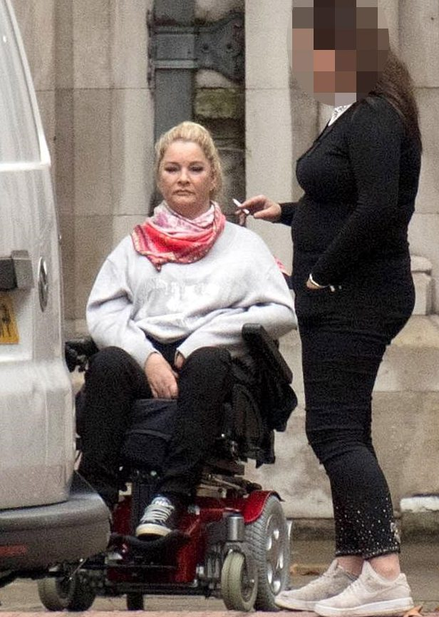 Mother, 46, left paralysed after being 'catapulted' from super-king sized bed during sex with her partner battles for ?1m compensation because the divan was an inch-and-a-half lower on one side A mother-of-four who was left paralysed after falling from a super-king size bed during sex has launched a legal battle for ?1million compensation. Claire Busby, 46, suffered catastrophic spinal injuries when she fell backwards from her recently delivered double-divan in August 2013. Successful business woman Mrs Busby from Maidenhead said she was in bed naked with her then partner when the bizarre tragedy unfolded. Mrs Busby, who was left tetraplegic and appeared in court in a wheelchair, claims the bed was missing two vital 'glider' feet when delivered, which created a 4cm difference in the height from one side to another. Mrs Busby, who ran a chain of hairdressing and beauty salons is suing Berkshire Bed Company Ltd - trading as Beds Are Uzzz - claiming the bed was 'defective'. The salon owner said she was 'performing a sexual act' when she toppled over. 'I was positioned kneeling over him,' she explained, to Judge Barry Cotter QC. 'I was kneeling over him and my right hand was touching him, maybe my left hand was touching his leg. I was half way down the bed.'