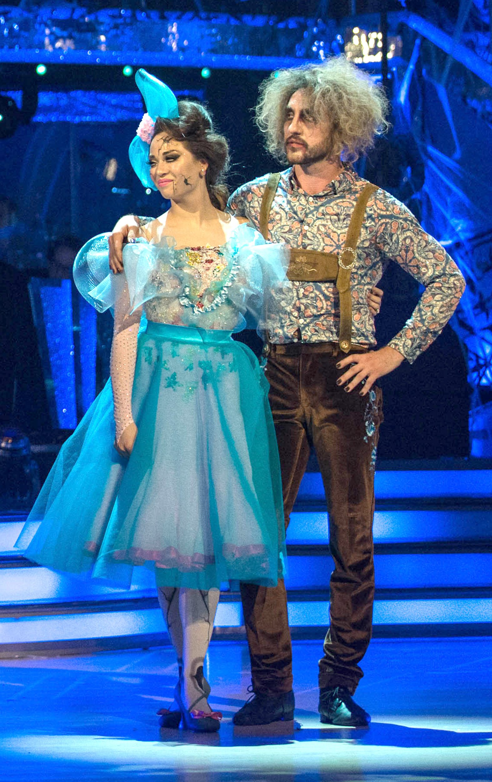 Television Programme: Strictly Come Dancing 2018. Episode: RESULT SHOW Katya Jones, Seann Walsh - (C) BBC - Photographer: Guy Levy