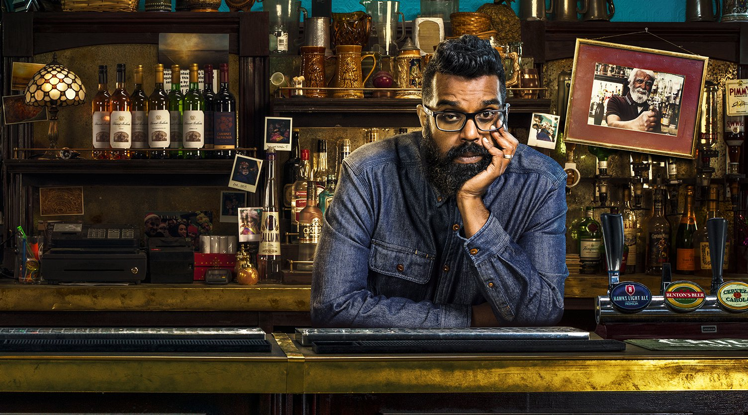 Television Programmes: The Reluctant Landlord. Romesh Ranganathan