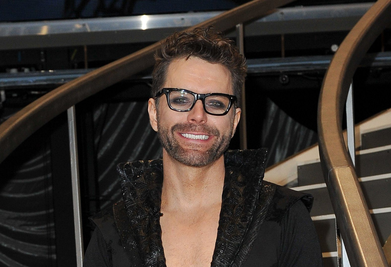 LOS ANGELES, CALIFORNIA - OCTOBER 29: Bobby Bones poses at 'Dancing with the Stars' Season 27 at CBS Televison City on October 29, 2018 in Los Angeles, California. (Photo by Allen Berezovsky/Getty Images)