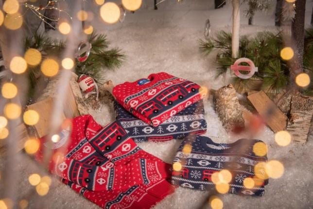 TFL Christmas clothing (Picture: TFL)