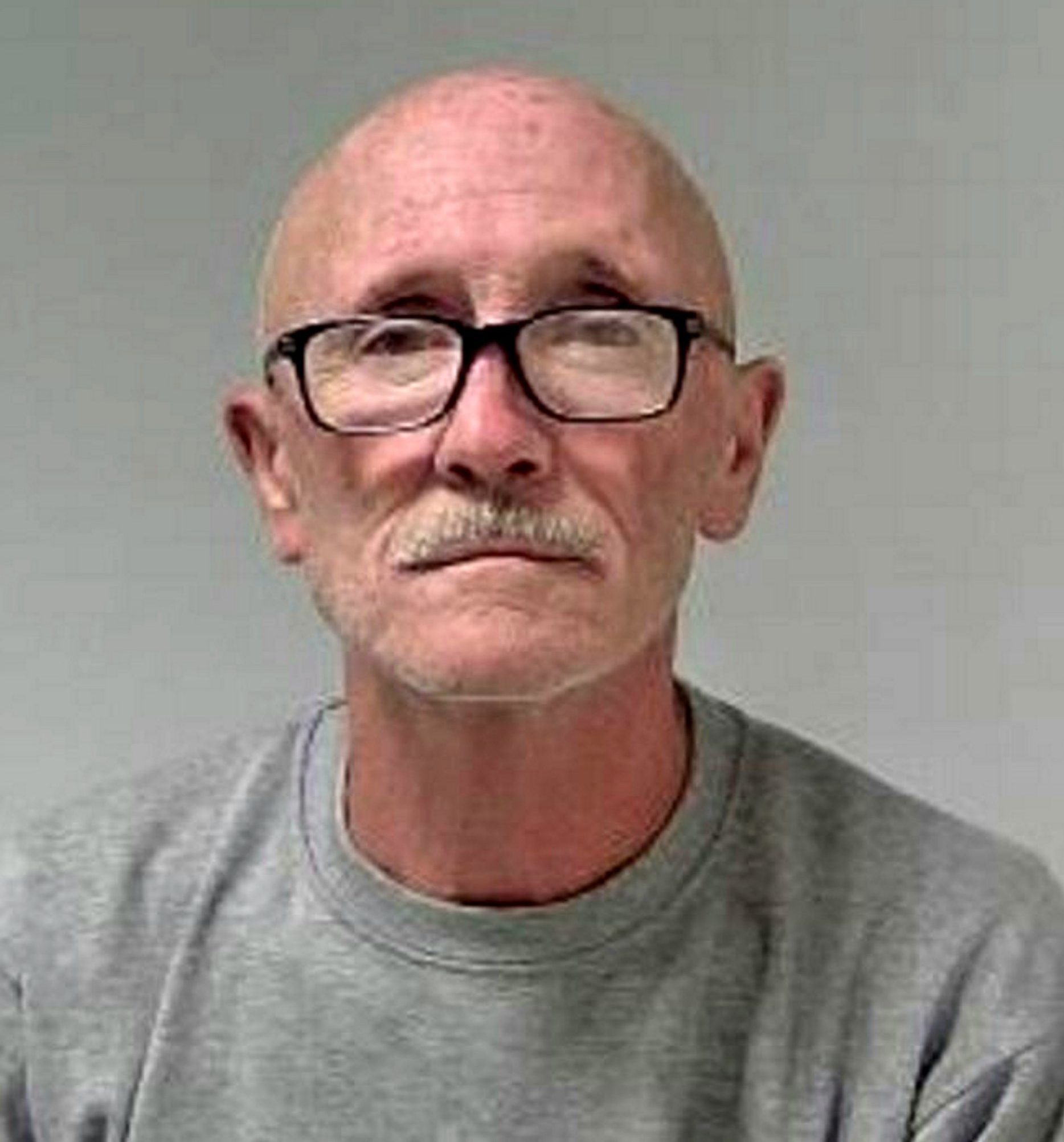 Declin Dreslin. See SWNS story SWMDperv; A drunk pervert who shoved his head between a young woman?s breasts in broad day light is jailed. Declin Dreslin, 60, had buried his face in the 19-year-old student?s chest whilst she waited for her boyfriend on August 8 this year. He held his head there for 10 seconds during the attack which took place outside WHSmiths, High Street, Worcester at around 1.20pm. The perv was caught after a witness had taken a picture on her phone of him after the assault whilst he was sat on a park bench. The 60-year-old had a previous conviction for driving with excess alcohol and being drunk and disorderly in public. Dreslin, of Barbourne Road, Worcester had admitted the attack and was jailed for four months at Worcester Crown Court on Wednesday (31/10).