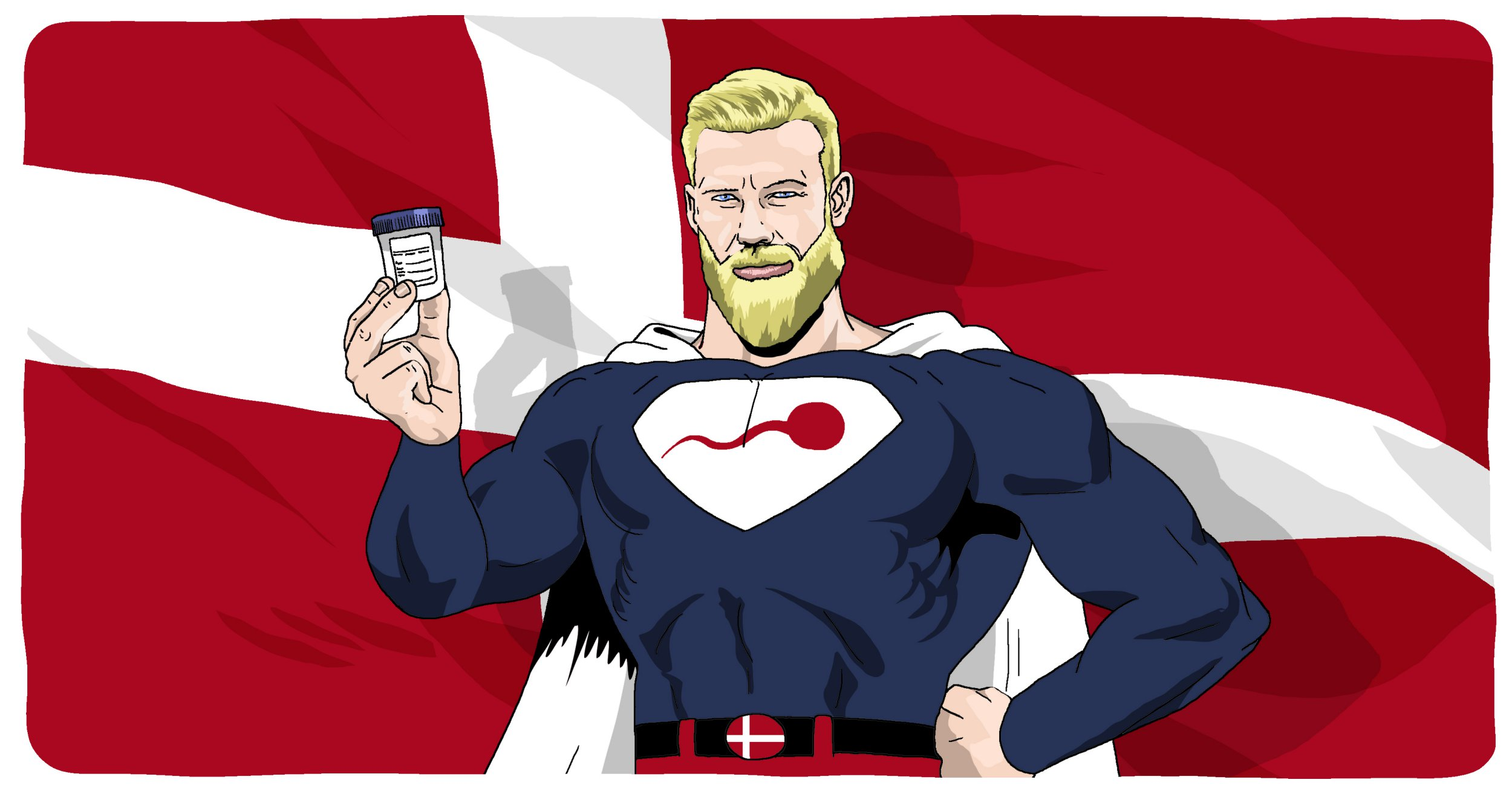 How to get super sperm like the Danish vikings
