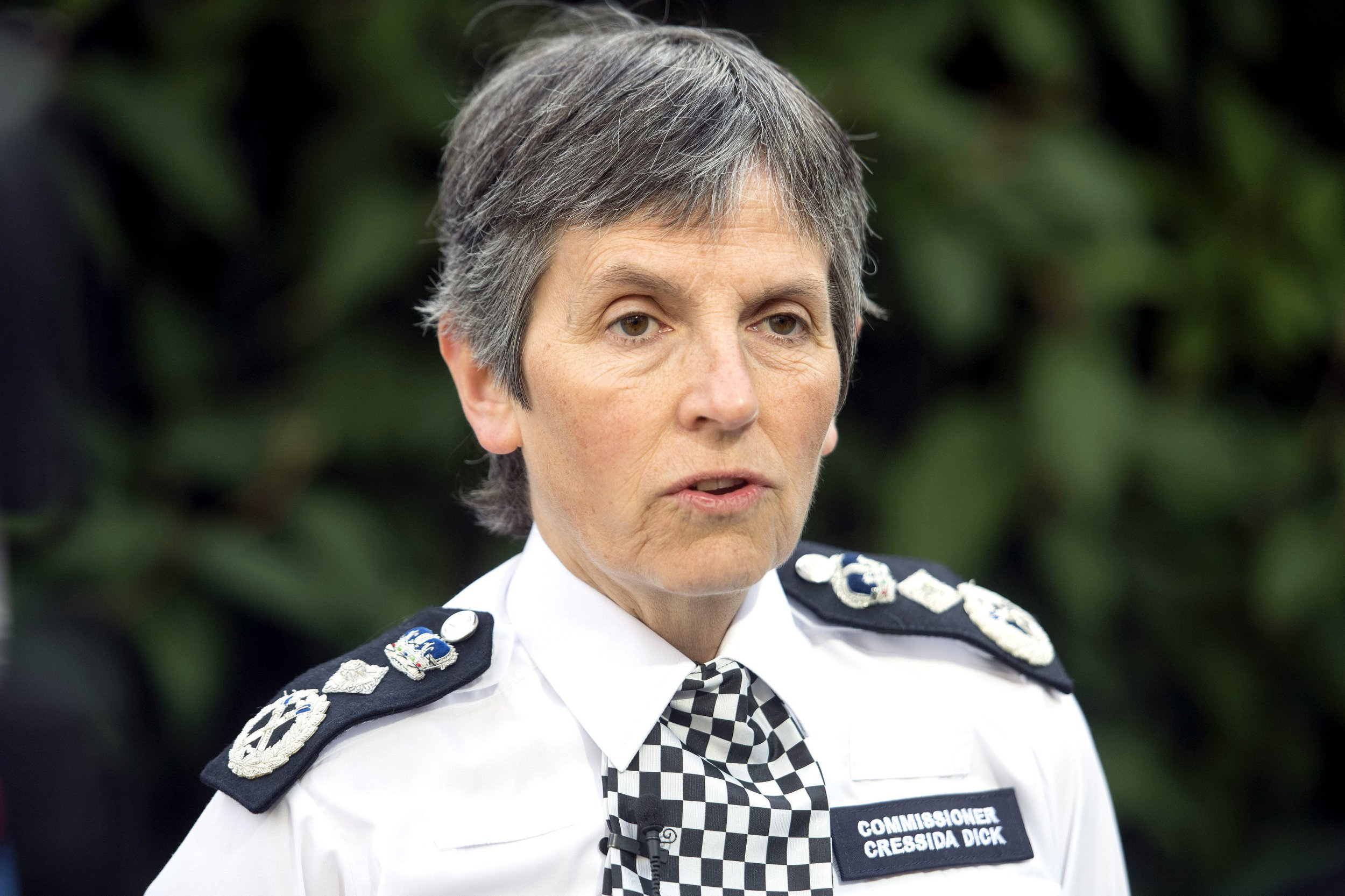 "File photo dated 23/06/17 of Metropolitan Police Commissioner Cressida Dick, who has backed a drive to focus on violent offenders rather than recording incidents of misogyny that are not crimes. PRESS ASSOCIATION Photo. Issue date: Friday November 2, 2018. Ms Dick said ""stretched"" forces must prioritise violent crimes, including drug gangs fighting turf wars on the streets of towns and cities across the country. See PA story POLITICS Police. Photo credit should read: Victoria Jones/PA Wire"