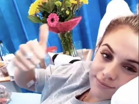 Love Island's Laura Crane praises 'amazing' ex Jack Fowler for support during sepsis battle after split
