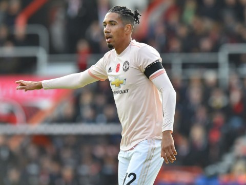Chris Smalling admits Manchester United were in 'awe' of Juventus during Old Trafford game