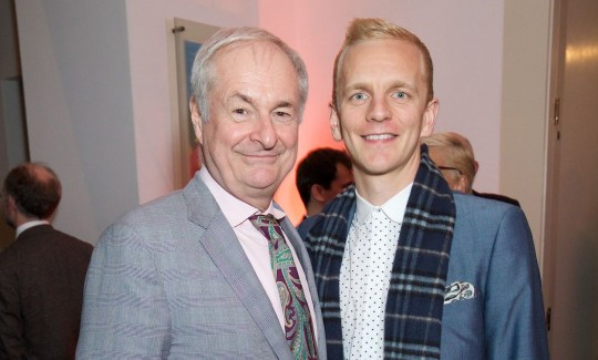 Mandatory Credit: Photo by Piers Allardyce/REX/Shutterstock (8444608z) Paul Gambaccini and Christopher Sherwood 'The Winter's Tale' press night, London, UK - 27 Feb 2017