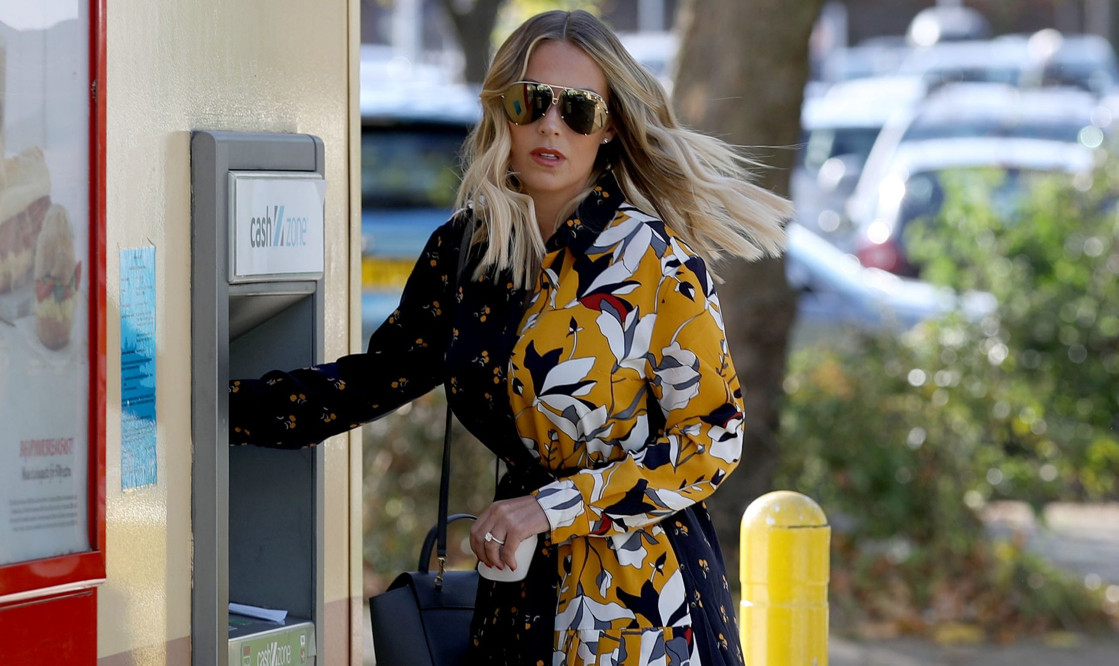 EXCLUSIVE: *NO WEB UNTIL 3PM GMT 5TH NOV* Kate Wright seen showing off her huge diamond engagement ring after fianc?? Rio Ferdinand popped the question earlier this week in Abu Dhabi. Rio has previously been married to Rebecca Ellison who sadly died of cancer in 2015. 03 Nov 2018 Pictured: Kate Wright. Photo credit: MEGA TheMegaAgency.com +1 888 505 6342