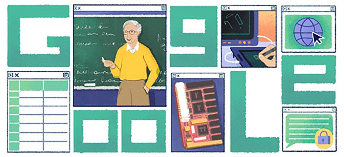 Google Doodle celebrates Michael Dertouzos
