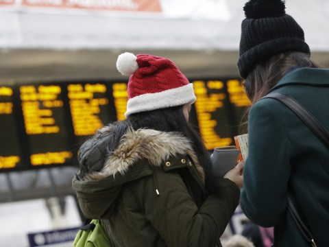 It's going to be cheaper getting home by car than train this Christmas