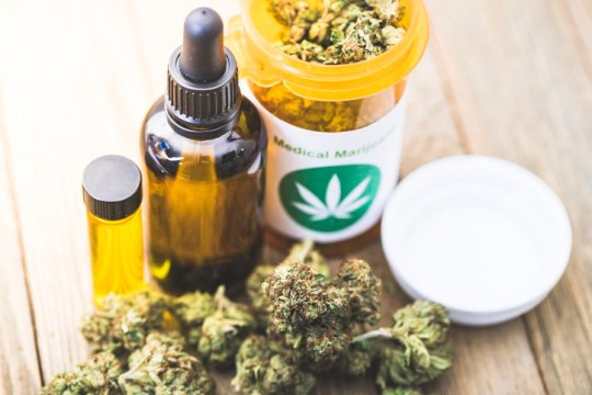 A stock photo of Medical Marijuana. Perfect for projects about Medical Cannabis, recreational drugs and Marijuana.