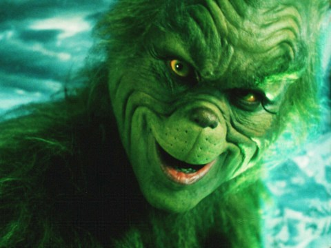 Who is in The Grinch cast alongside Jim Carrey and when is it on TV?