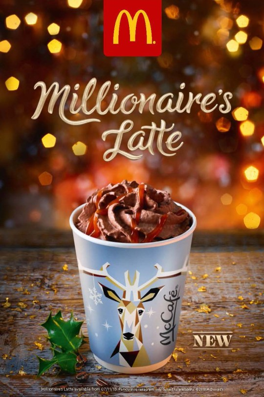 Mcdonalds Christmas Eve Hours.Mcdonald S Launches A Christmas Latte Inspired By