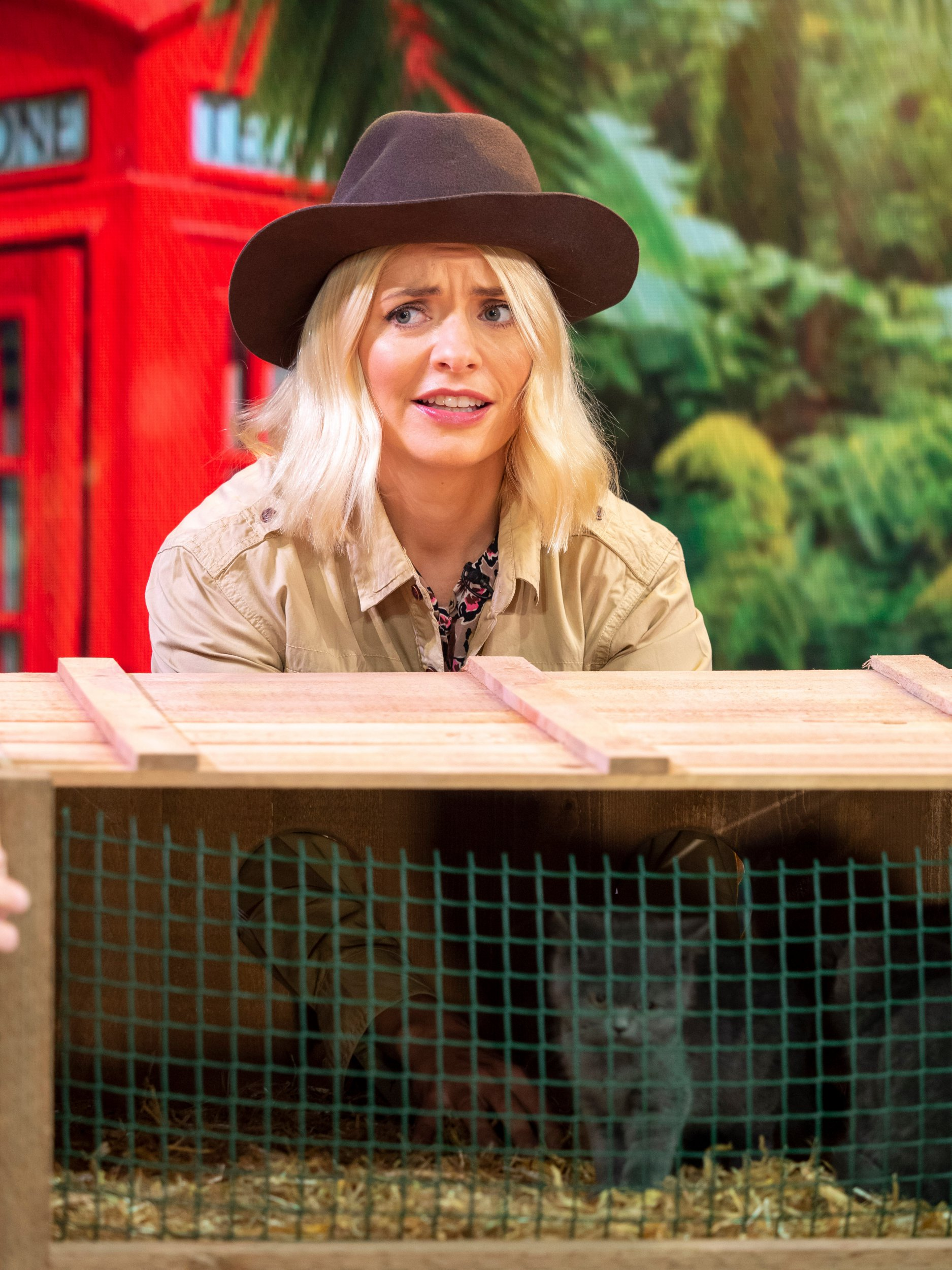 Editorial use only Mandatory Credit: Photo by Ken McKay/ITV/REX/Shutterstock (9937103dy) Holly Willoughby 'This Morning' TV show, London, UK - 18 Oct 2018