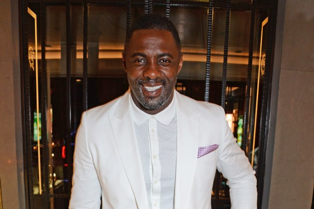 PARIS, FRANCE - APRIL 28: Idris Elba arrives at the ABB Formula E Qatar Airways Paris E-Prix official after party on April 28, 2018 in Paris, France. (Photo by David M. Benett/Dave Benett/Getty Images for Formula E)