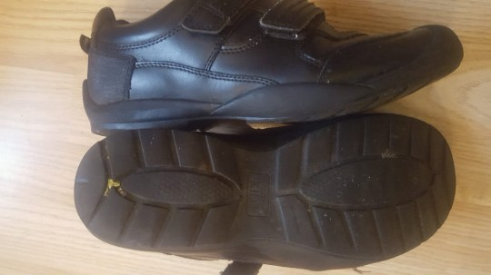 "These are the shoes which saw a 14-year-old spend four hours out of class in a uniform crackdown branded ""totally wrong"". Teachers at Walbottle Campus, on the outskirts of Newcastle, have launched a tougher uniform inspection regime after the half term holiday - but it hasn't gone down well with some parents. Mum Carol Close says her son was banned from his year 10 class over a pair of black shoes, which one teacher deemed not up to code. Carol said: ""There's nothing wrong with his behaviour - it was just the shoes that were the issue. Shoes mum Carol Close says saw her son sent out of class"