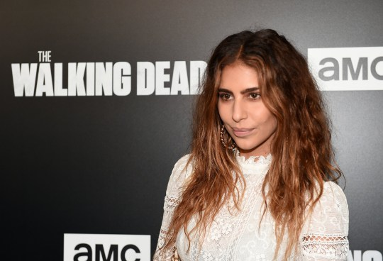 """LOS ANGELES, CALIFORNIA - SEPTEMBER 27: Nadia Hilker attends the premiere of AMC's """"The Walking Dead"""" season 9 at DGA Theater on September 27, 2018 in Los Angeles, California. (Photo by Paul Butterfield/FilmMagic)"""