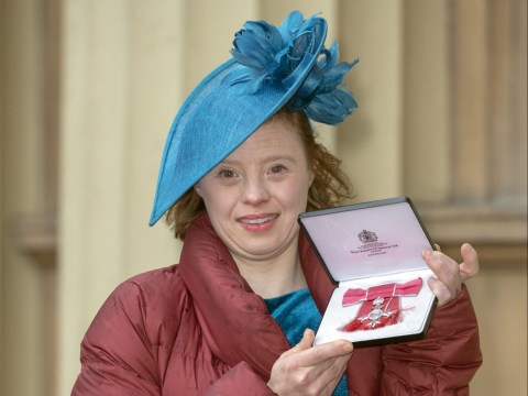 Call The Midwife star Sarah Gordy becomes first woman with Down's syndrome to receive MBE
