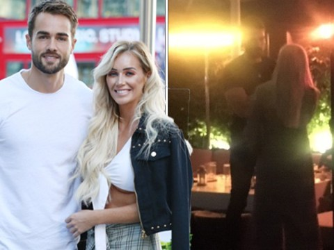 Love Island's Laura Anderson has awkward run in with ex Paul Knops as he hangs with new girlfriend