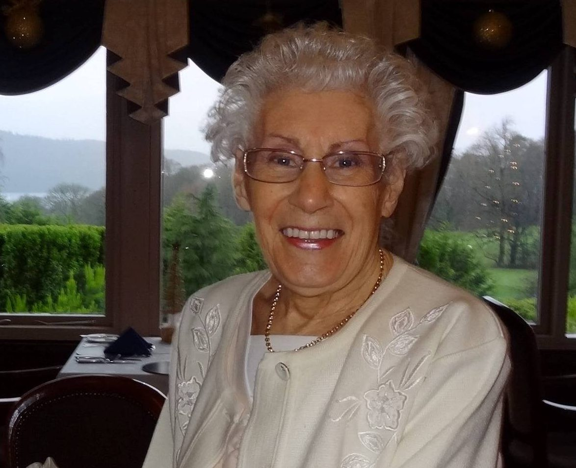 """Dated: 08/11/2018 FAMILY AND FRIENDS PAID RESPECTS TO 91-YEAR-OLD WHO PENNED HER OWN OBIT SAYING SHE HAD """"POPPED HER CLOGS"""" Jean Hedley (pictured), of Ferryhill, County Durham had prepared her death notice in advance, which contained an invite to her send-off. She said: """"Jean Hedley would like to say to all her loving family and friends that she has finally POPPED HER CLOGS [sic] and gone to be with Ted, her loving late husband who she has missed terribly for 25 years. See copy North News NORTHERN ECHO COPYRIGHT - ONLY TO BE USED IN PRINTED EDITIONS - NOT TO BE USED ON-LINE WITHOUT FURTHER SPECIFIC PERMISSION AND LICENSE - IF USED WITHOUT PERMISSION THE NORTHERN ECHO RESERVE THE RIGHT TO TAKE LEGAL ACTION FOR BREACH OF COPYRIGHT AND DAMAGE TO BUSINESS"""