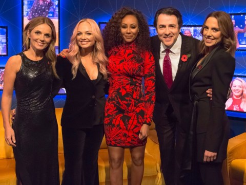 Jonathan Ross makes huge swipe at Victoria Beckham's singing as Spice Girls reveal she wasn't invited to the reunion tour